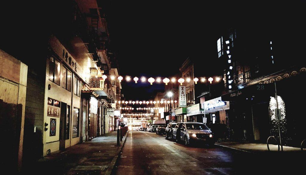 night photography san francisco