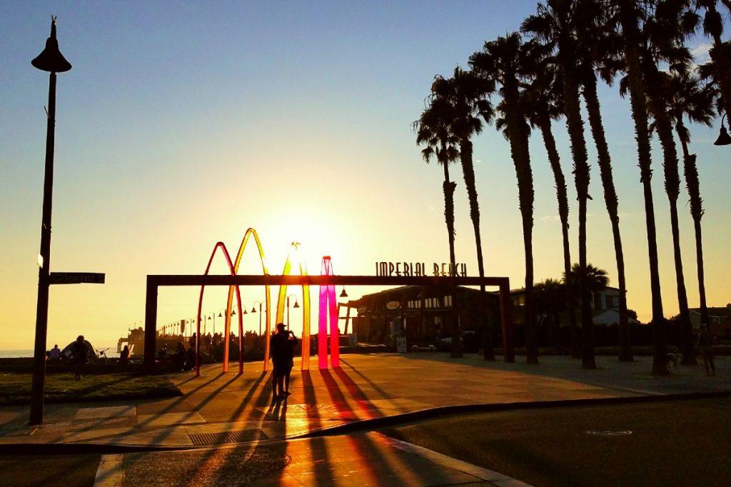 imperial beach pier san diego photo by elle gamboa